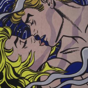 """Roy Lichtenstein, """"We rose up slowly..."""""""